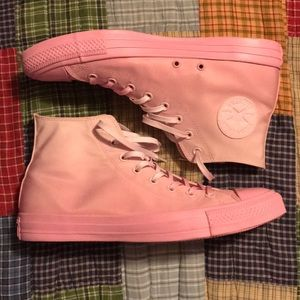 Pink Converse Chuck Taylor High Size 12